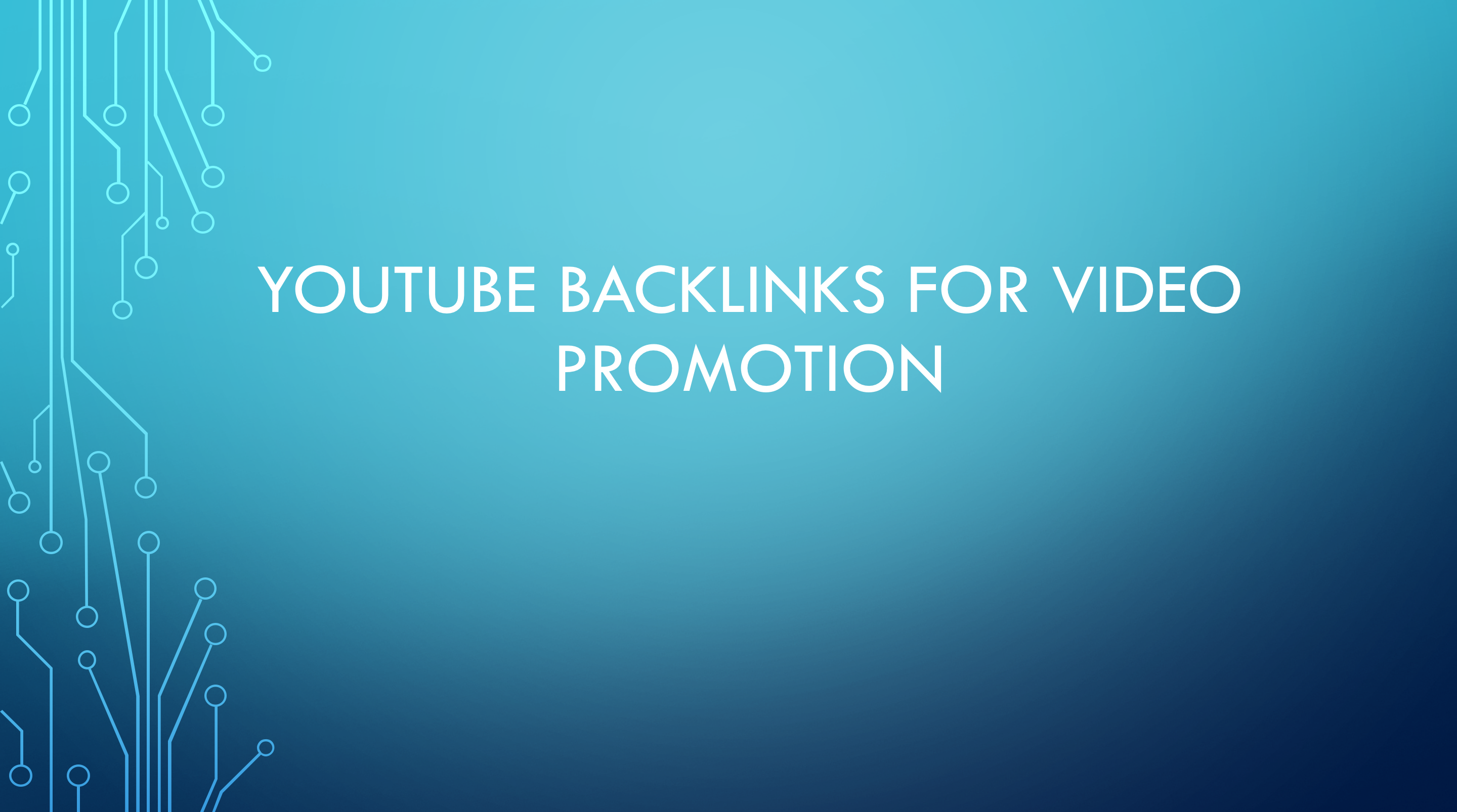 YouTube backlinks to boost video performance