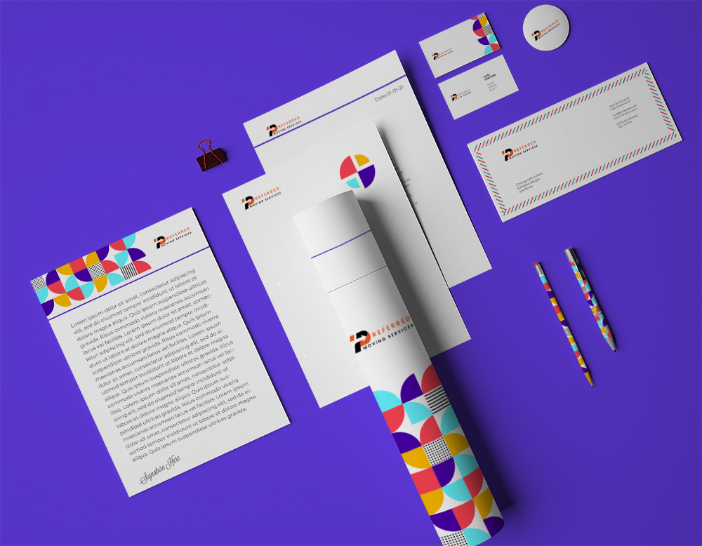 I will do business card design and complete stationery design items