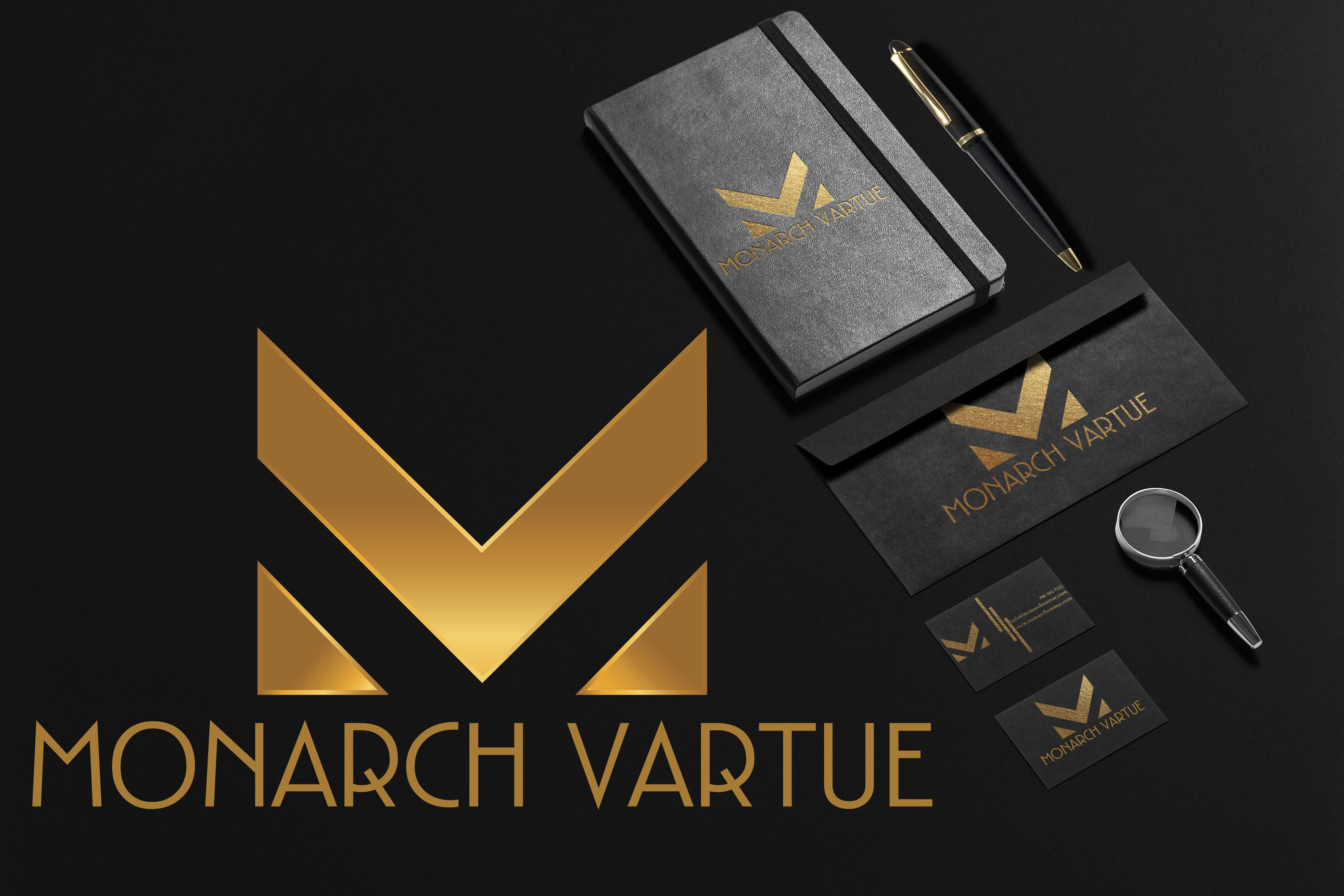I will do luxury minimalist business logo design with copyright