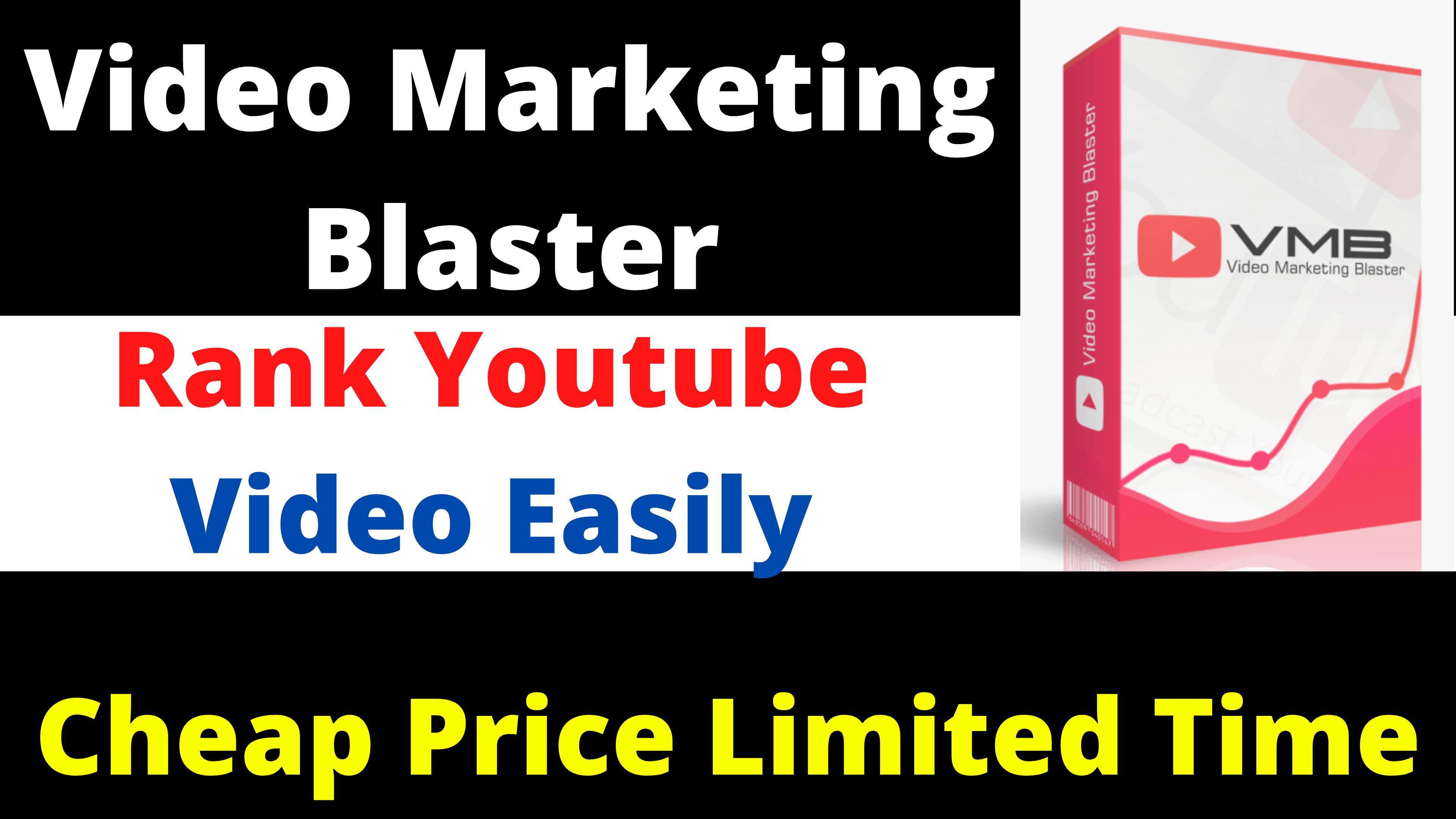 Video Marketing Blaster Easily Rank Your Video Traffic Organic
