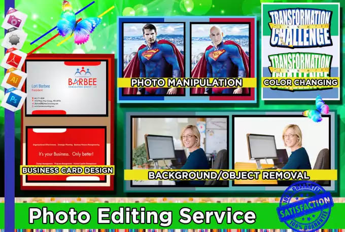 I will do any photoshop edit and retouching within 2 hours