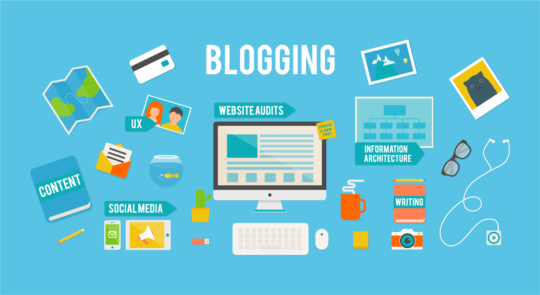 I will write Blogs of your Interest
