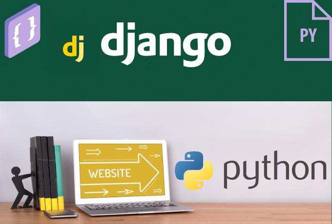 I will develop python web apps using Django Framework