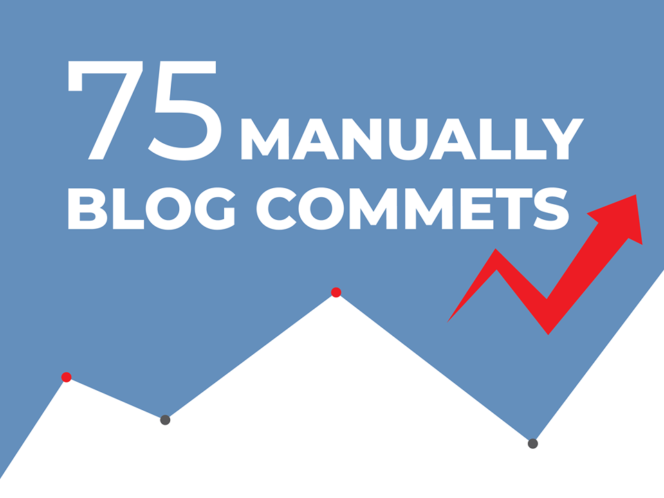 I will do 75 blog comments backlinks