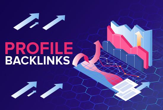 I will do quality 25 profile backlinks for website SEO