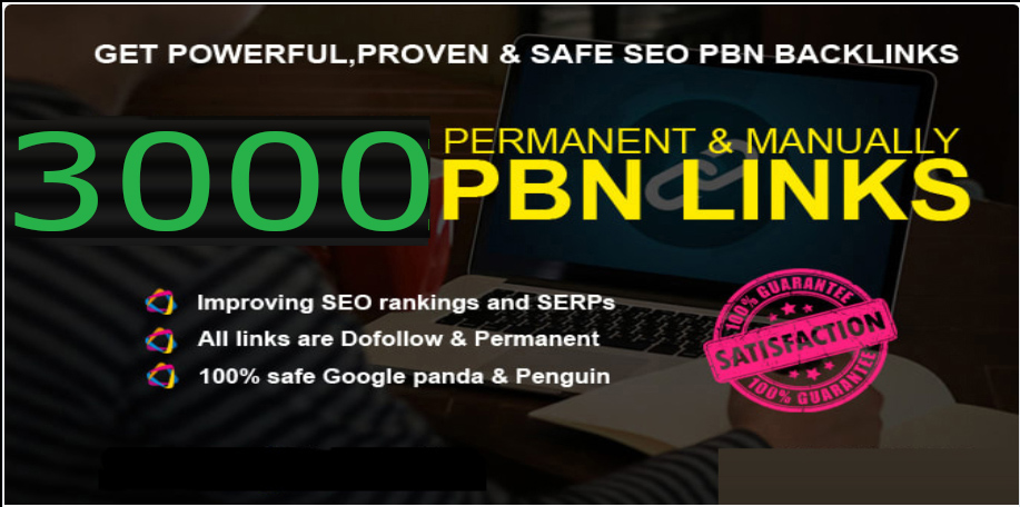 Buy Extream 3000 Permanent PBN Backlink with High DA/PA CF/TF on your Homepage with unique Website