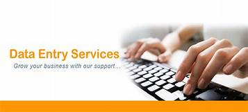 We do data entry in MS excel and MS word