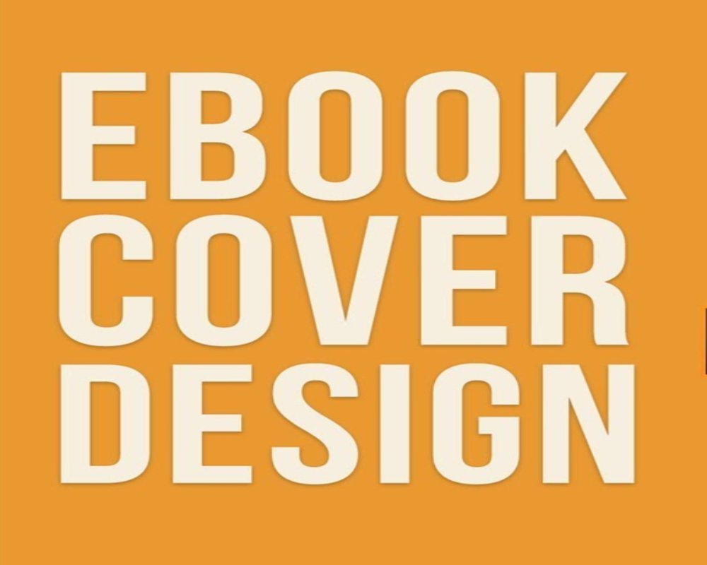 Design an attractive eBook cover