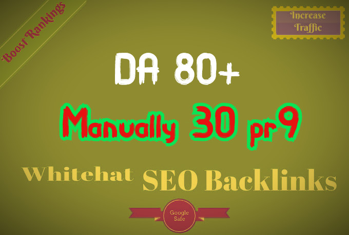I will provided 30 PR9 High SEO Authority Profile Backlinks - Skyrocket your Google RANKINGS