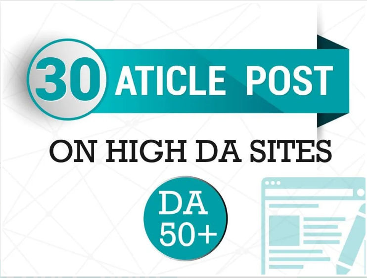I will make 30 article submission in SEO backlinks