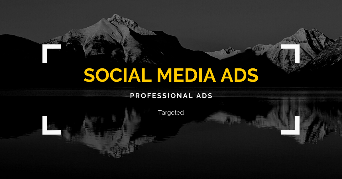 professional social media ads & social media marketing