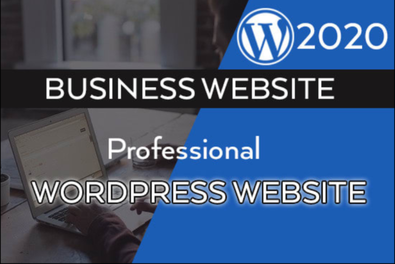 I will create professional WordPress website,  logo design,  traffic & SEO