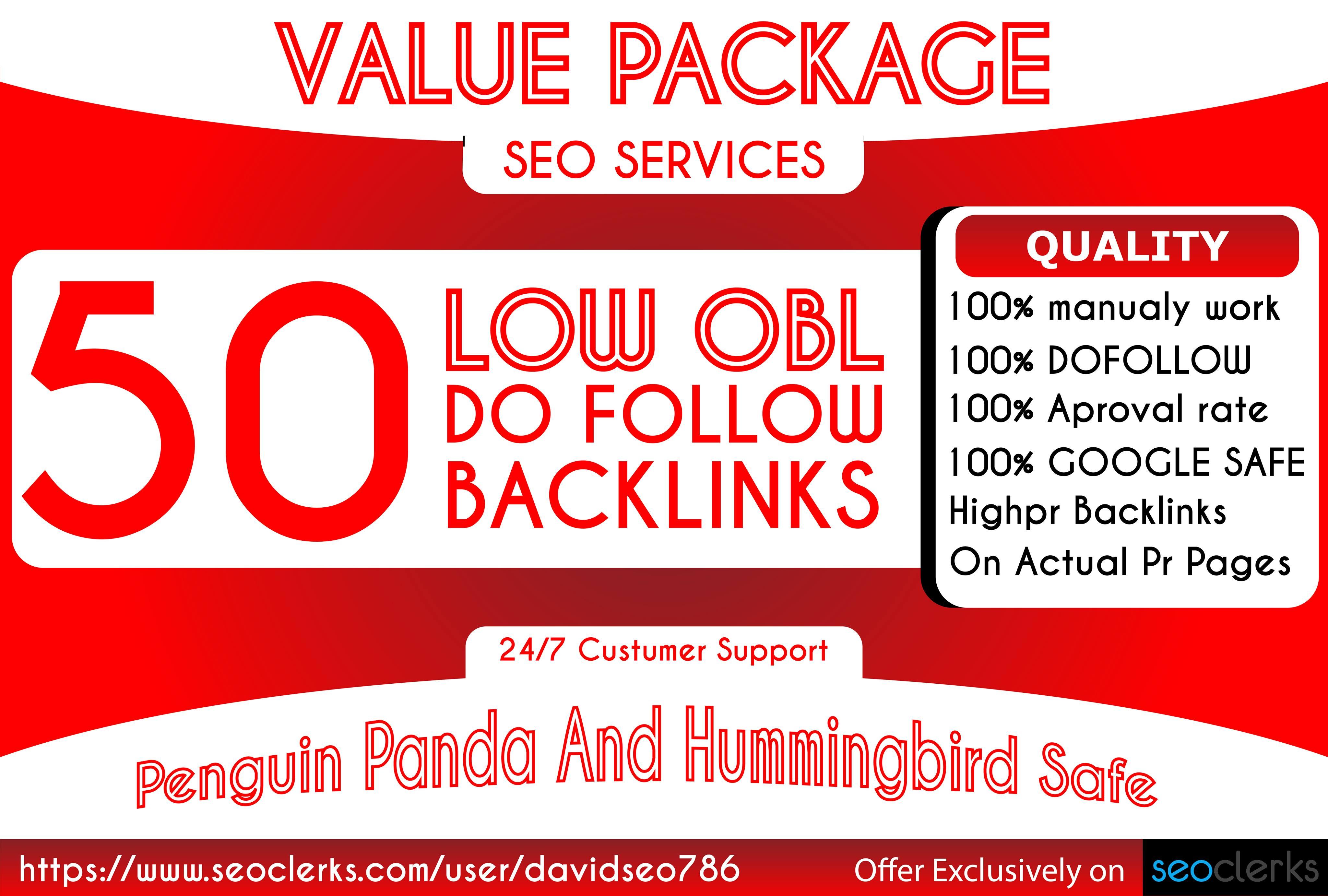 I will Make 50 unqiue domain blog comment backlinks in da 30+