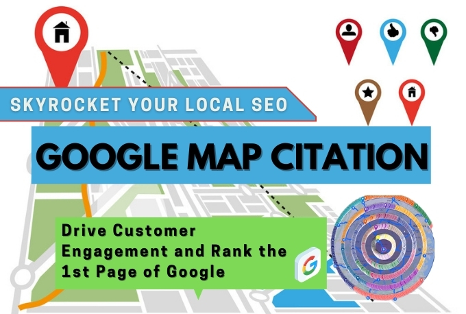 I will build 300 Google Map Citations to Rank Your Local SEO Higher On Google in 24 hours