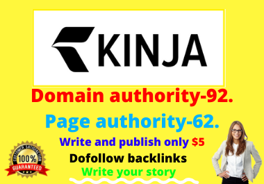 Write and publish a guest post in kinja. com