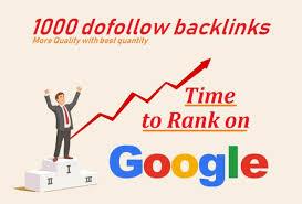 I will do 1000 dofollow high quality backlinks
