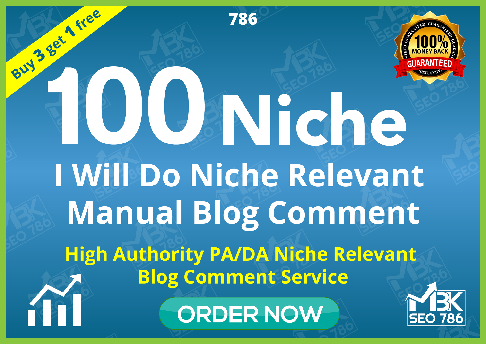 I will Do 100 Niche Related Blog Comments