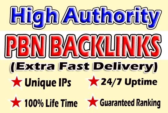 Give You 10 Powerful DA30+ PBN BackLinks