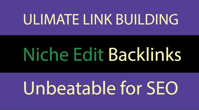Outreach Links On Authentic Sites - Powerful Curated Links - DA 20 - 50 Authority Niche Edits