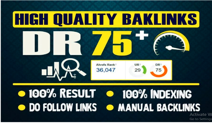 Build 10 Permanent DR75+ Homepage PBN Dofollow Backlinks