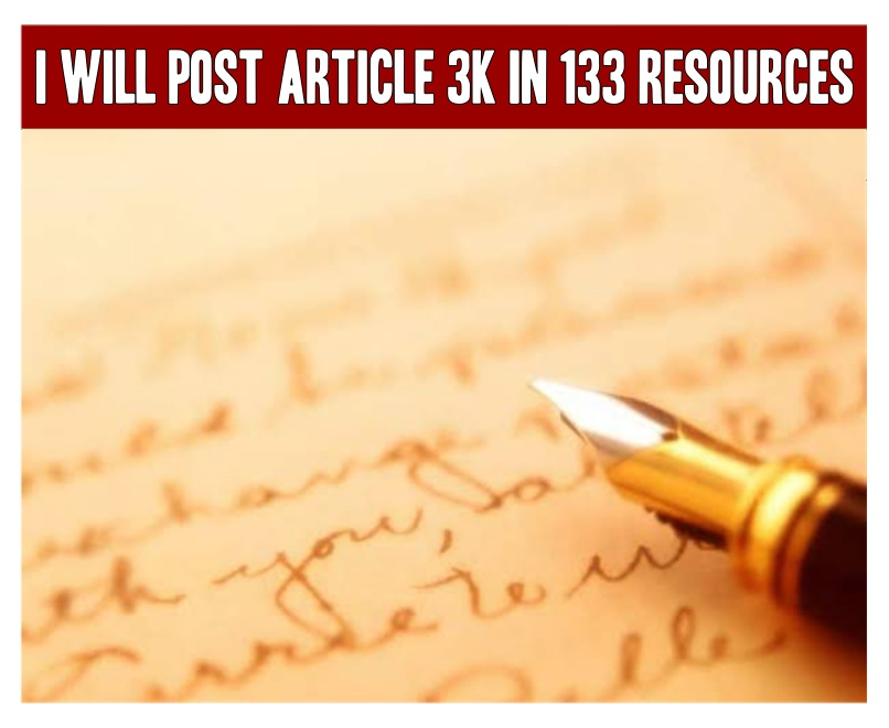 I will post Article 3K in 133 Resources