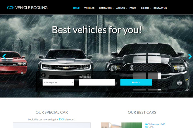 Auto & Moto Themes for WordPress and Joomla
