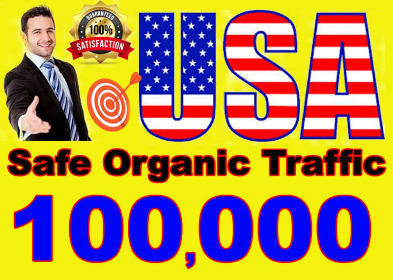 I will drive safe organic traffic visitors from USA,CANADA and EUROPE EXCLUSIVE OFFER