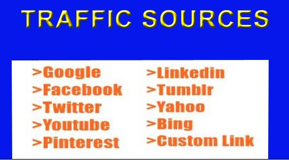 I will send REAL HUMAN WEB TRAFFIC FROM USA,CANADA,EUROPE
