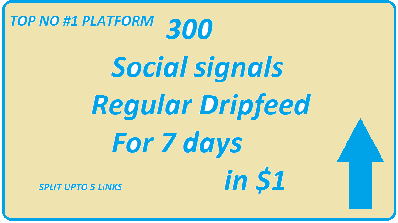 300+Top no 1 Powerful social signals bookmarks Dripfeed