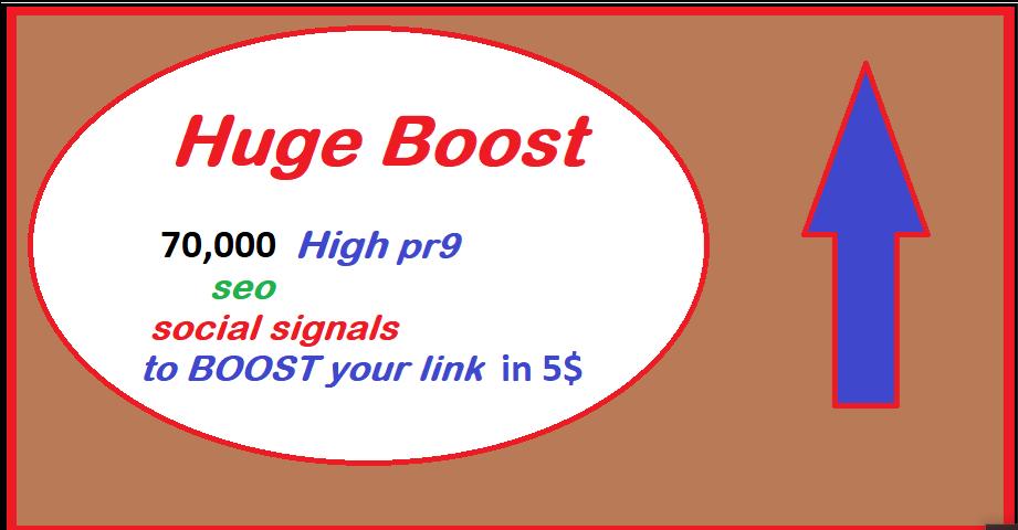 70,000+ Top no 1 platform Web shares social signals