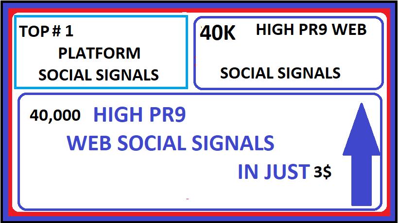 40,000+ Top 1 platform Web shares social signals