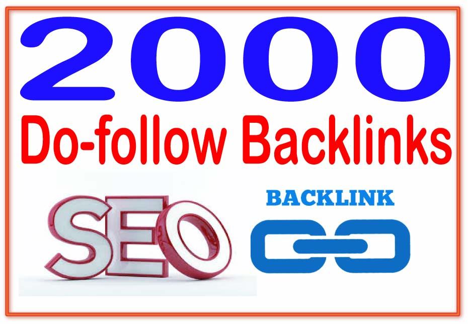 Provide 2000 Social Network Profile Backlinks with PR1 to PR9