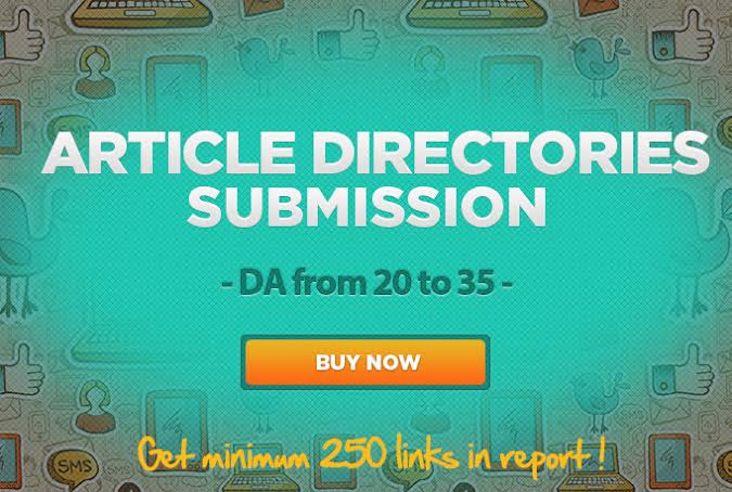 Buy 100+ Article Directories Backlinks for make your website Ranking Casino/Gambling/mpo site