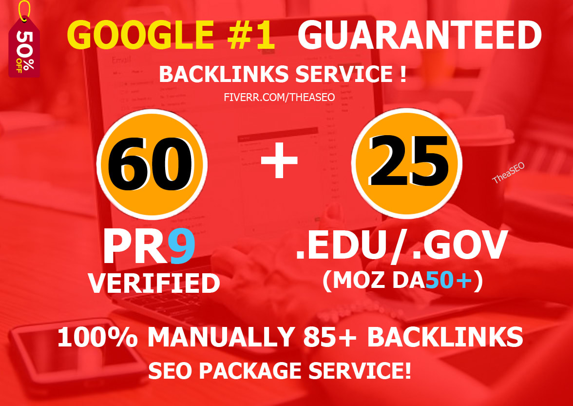 Get 120+ up to pr9, edu dofollow backlinks For boost your Google Ranking