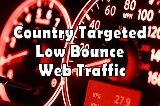 Low bounce rate Google organic traffic for 15 days
