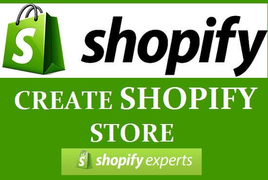 I will create shopify dropshipping store with marketing