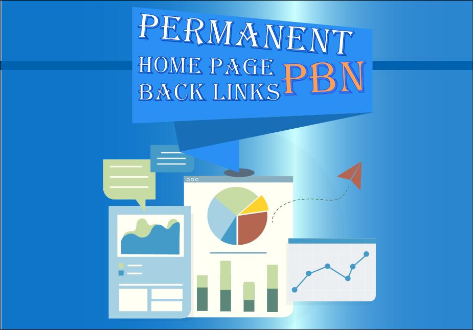 I Will Build Permanent 5 High DA,  PA,  TF,  CF,  DR,  PR,  Home Page PBN Backlink