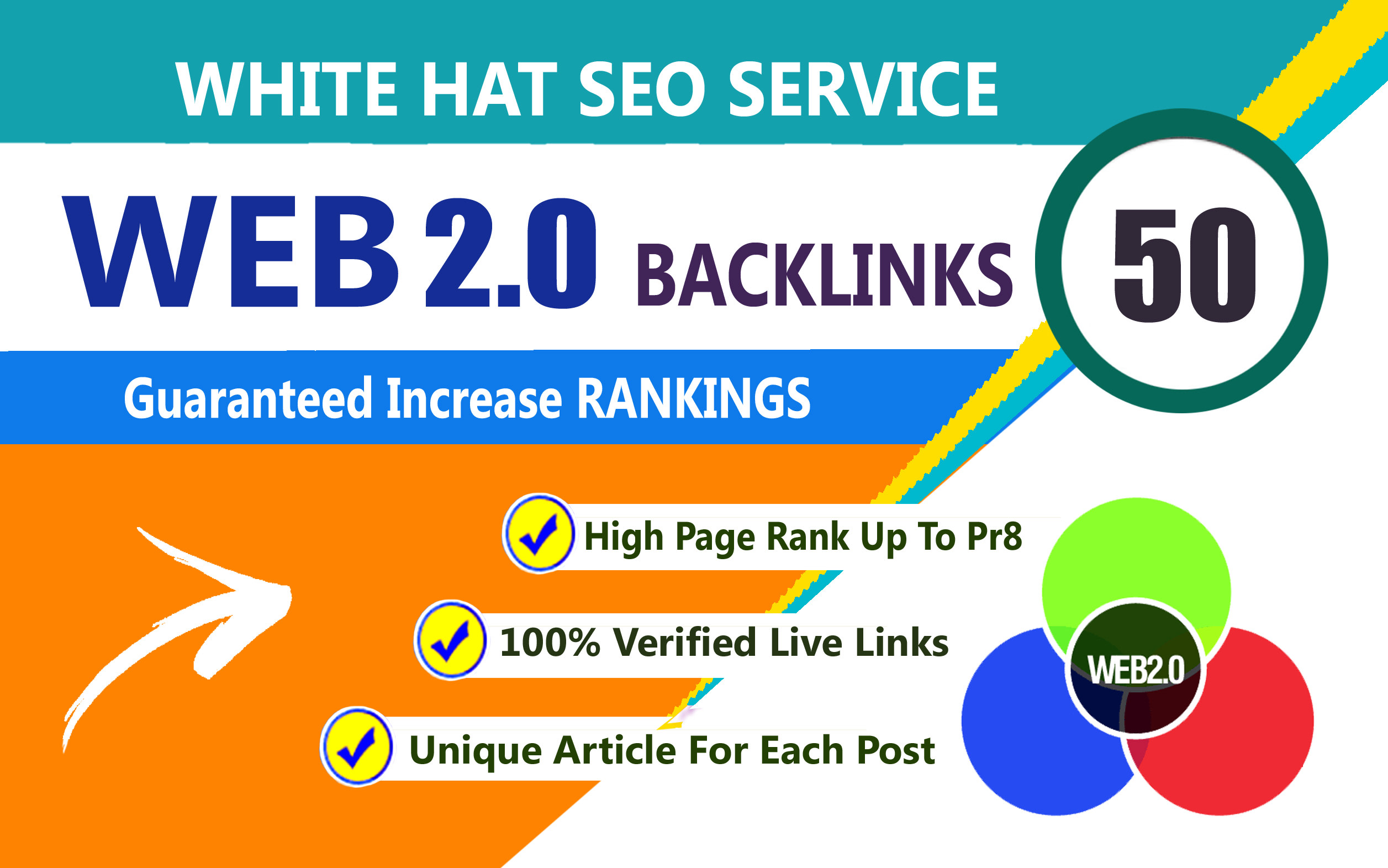 I will build 20 high Quality web 2.0 backlinks