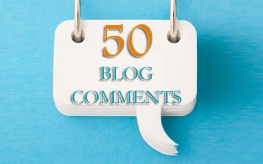 I will do 50 blogcomments high DA PA backlinks
