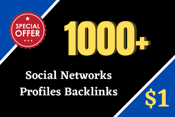 I Will create 1000 Tier 2 Social networks profiles backlinks for Link Pyramid SEO Strategy