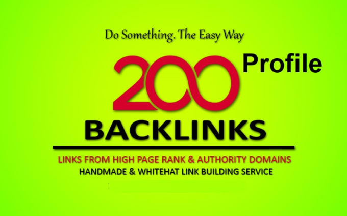 Skyrocket Rank Your Website On Google Top With 200 High Domain Unique Backlink