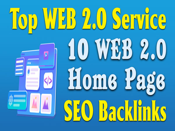 10 Web2.0 Subdomain Homepage Seo Backlinks Web 2.0