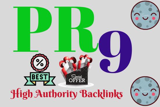 I will do 100 PR7 to PR9 SEO links for Google Ranking