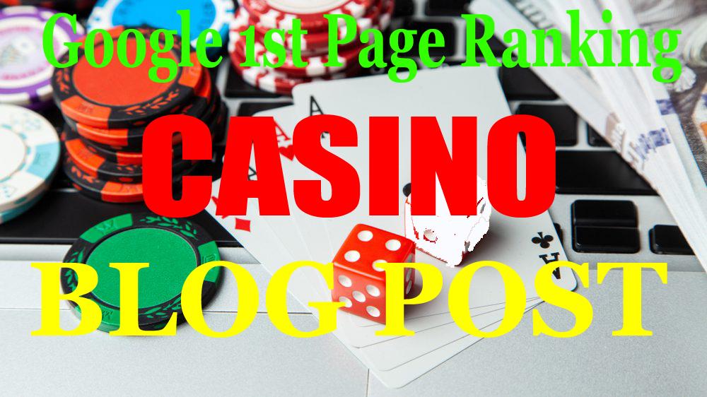 100 CASINO/POKER/Gambling High Quality Pbn Backlinks on high authority sites