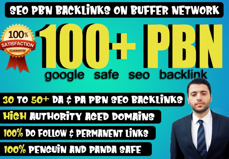 Provide 100+ High TF CF DA PA 30+ Dofollow PBN Backlink