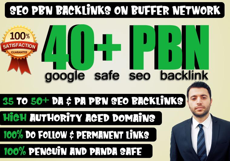 40+ High Quality Dofollow PA DA TF CF web2.0 Backlinks