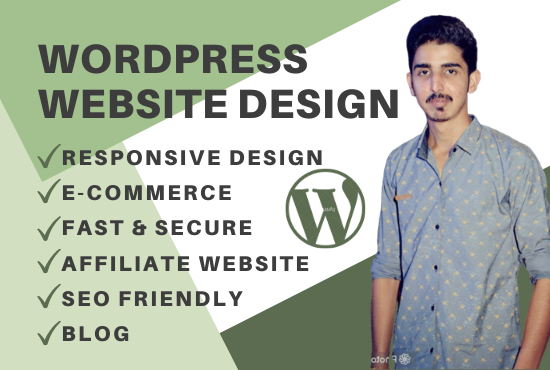 Design wordpress website and redesign wordpress website