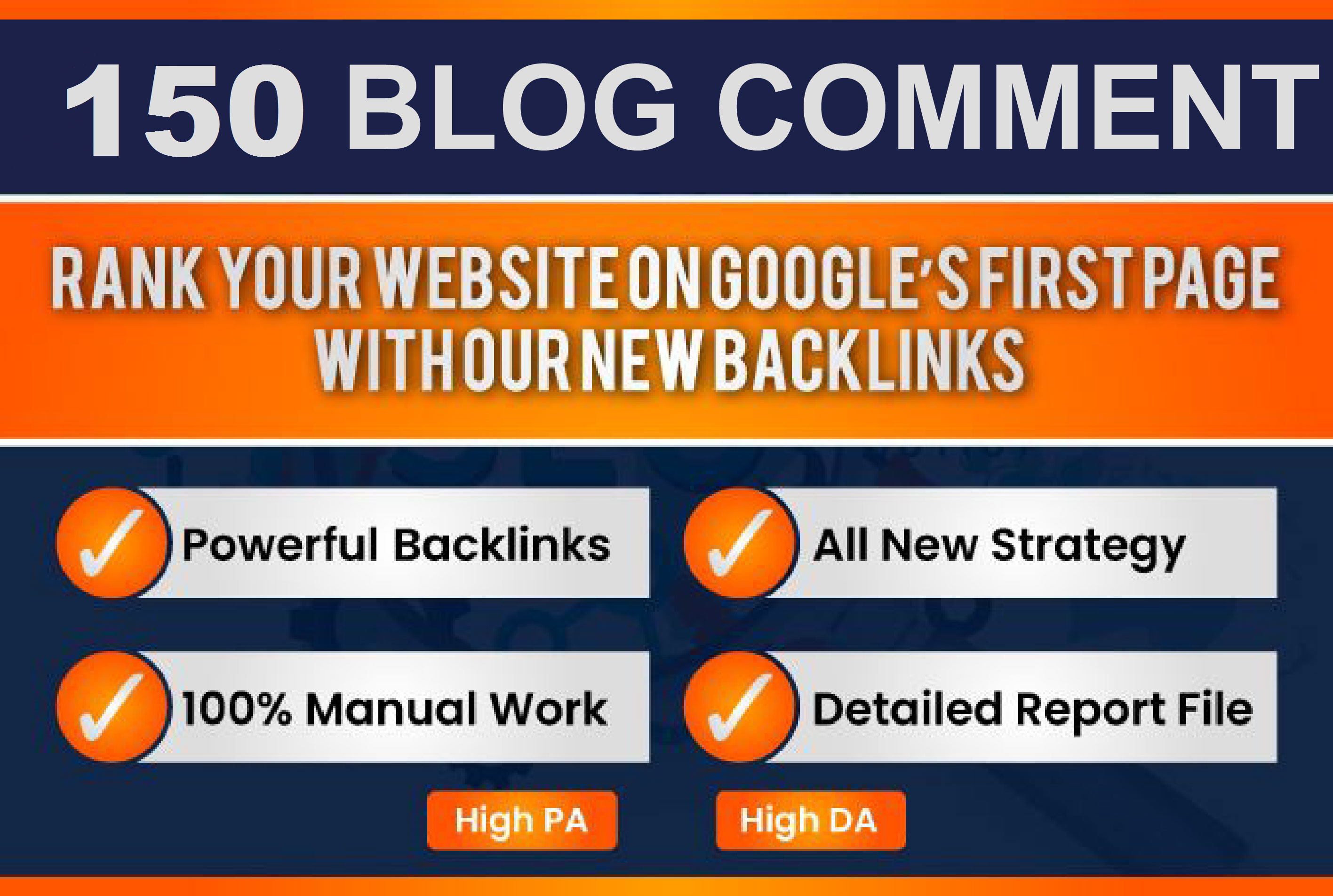 150 blog comments to rank HIGH on google