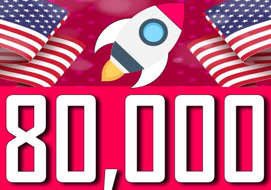 80,000 worldwide dsence safe raffic form traffic YouTube, Twitter, Linkedin, instagram