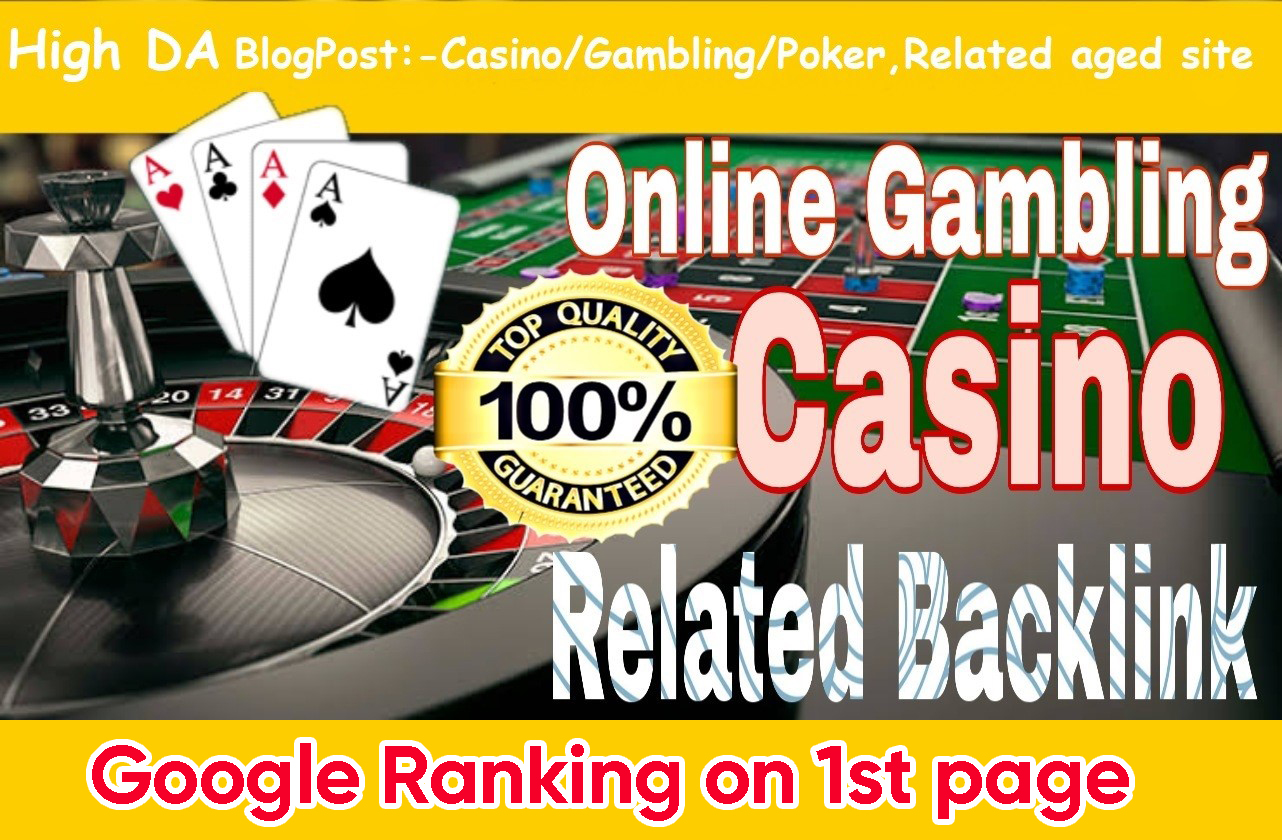 Permanent 3500+ powerful Casino,  Gambling,  Poker,  Sports betting,  Judi related backlinks unique site